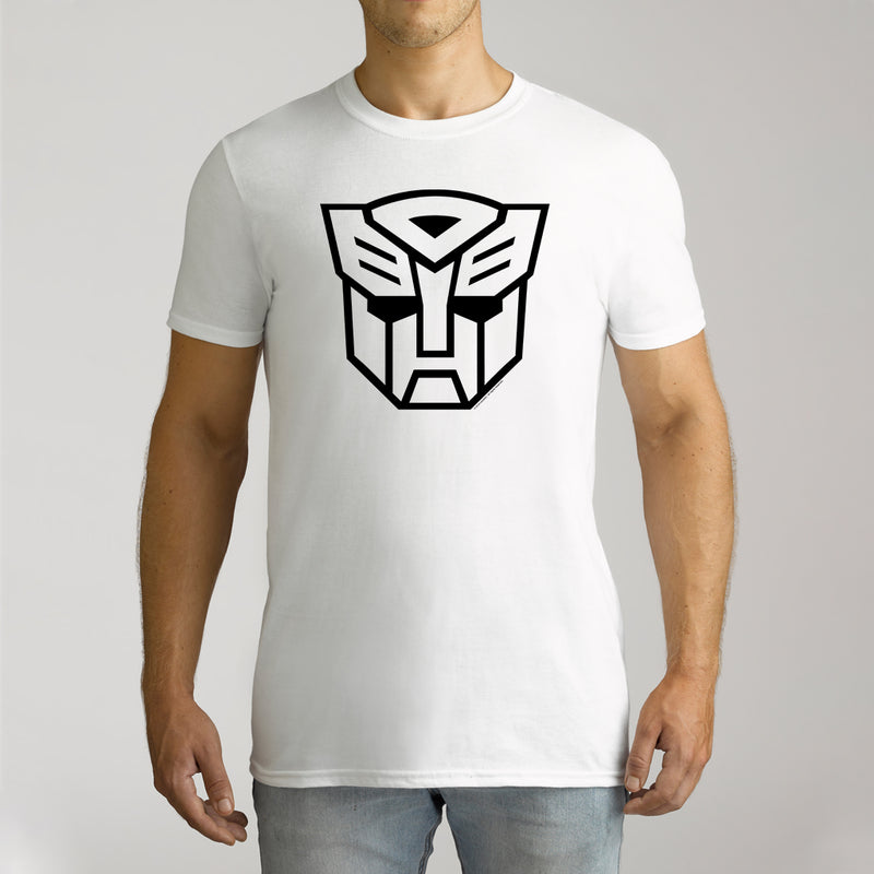 Twidla Men's Transformers Face Cotton Tee
