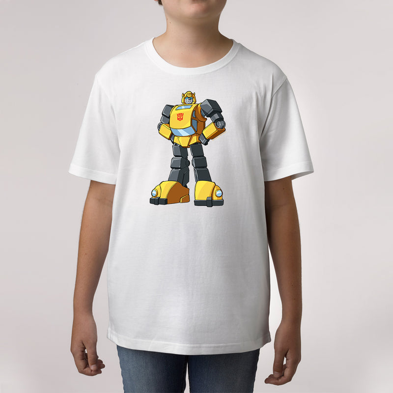 Twidla Boy's Transformers Bumblebee Standing Strong Cotton Tee