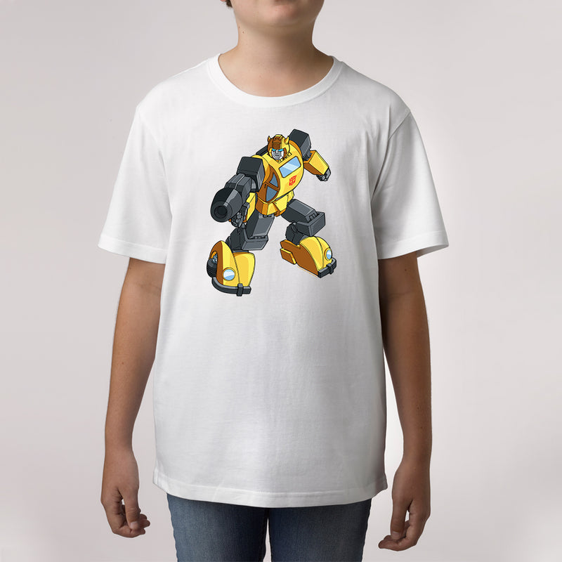 Twidla Boy's Transformers Bumblebee On The Move Cotton Tee