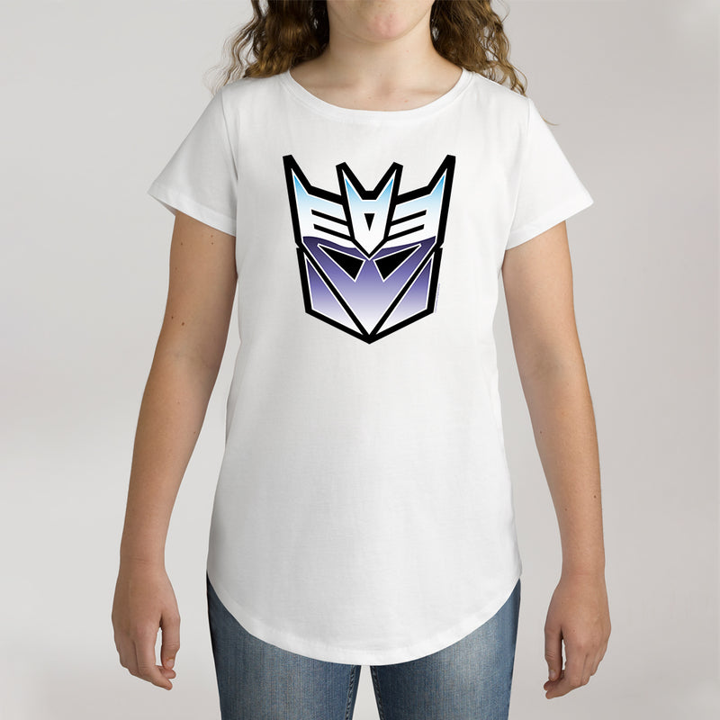 Twidla Girl's Transformers Optimus Prime Cotton Tee