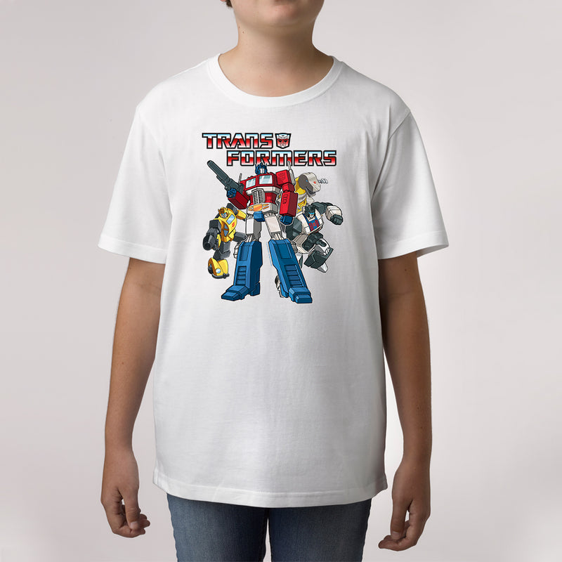 Twidla Boy's Transformers Collection Cotton Tee