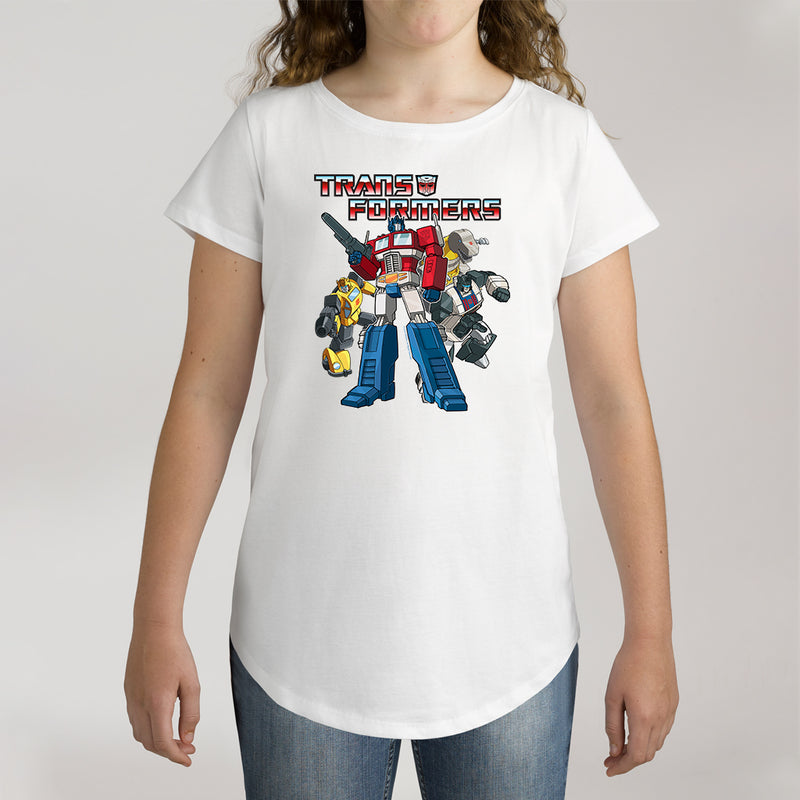 Twidla Girl's Transformers Collection Cotton Tee