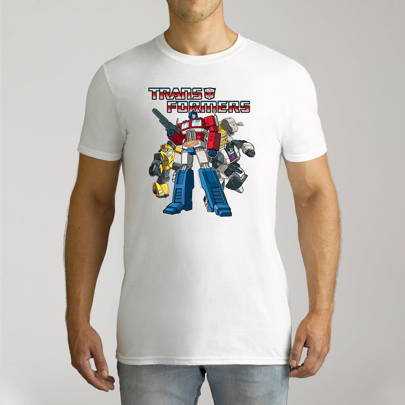 Twidla Men's Transformers Collection Cotton Tee
