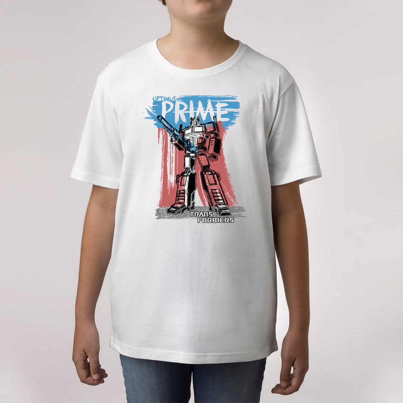 Twidla Boy's Transformers Prime Cotton Tee