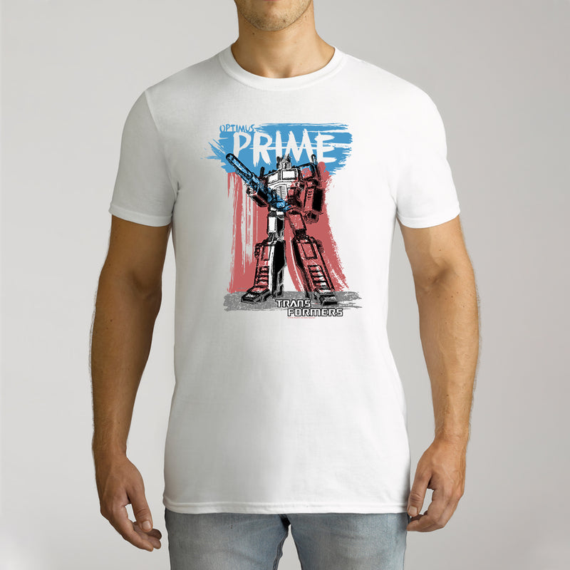 Twidla Men's Transformers Prime Cotton Tee