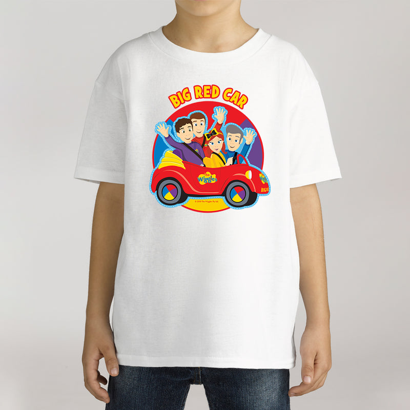 Twidla Boy's The Wiggles Big Red Car Cotton Tee