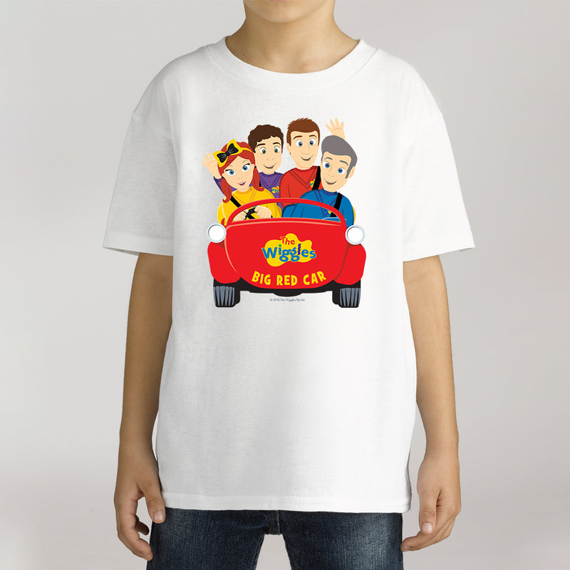 Twidla Boy's The Wiggles Big Red Car 2 Cotton Tee