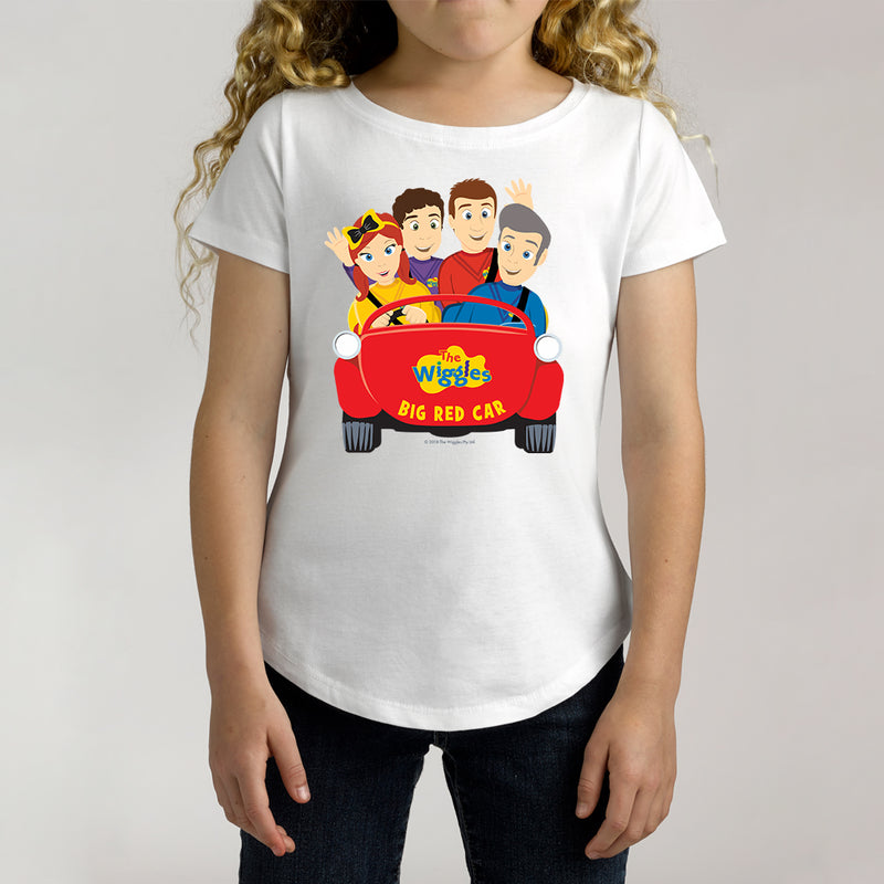 Twidla Girl's The Wiggles Big Red Car 2 Cotton Tee
