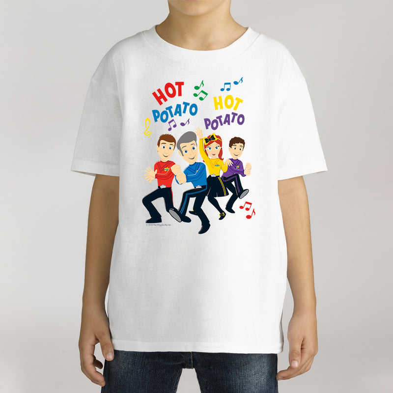 Twidla Boy's The Wiggles Hot Potato Cotton Tee