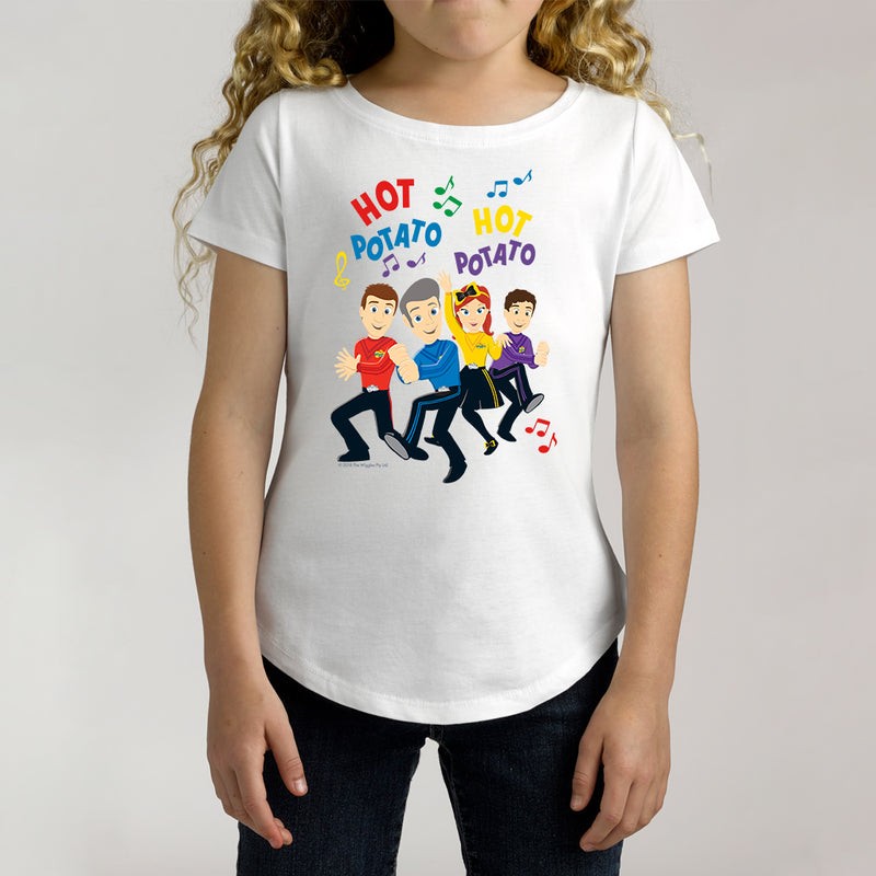 Twidla Girl's The Wiggles Hot Potato Cotton Tee
