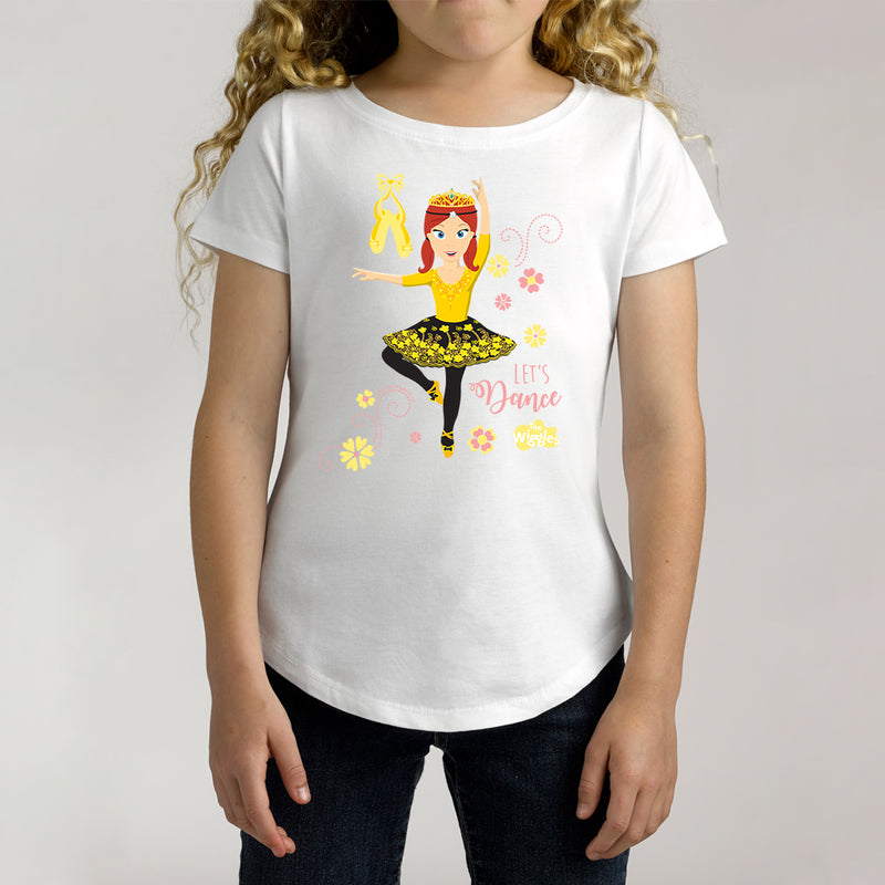 Twidla Girl's The Wiggles Let's Dance Cotton Tee