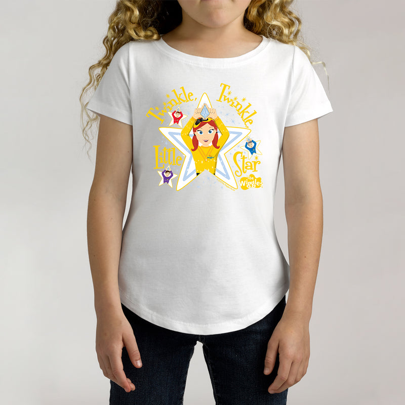 Twidla Girl's The Wiggles Twinkle Twinkle Little Star Cotton Tee