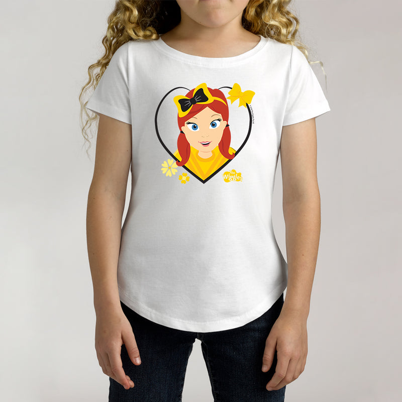 Twidla Girl's The Wiggles Love Emma Cotton Tee