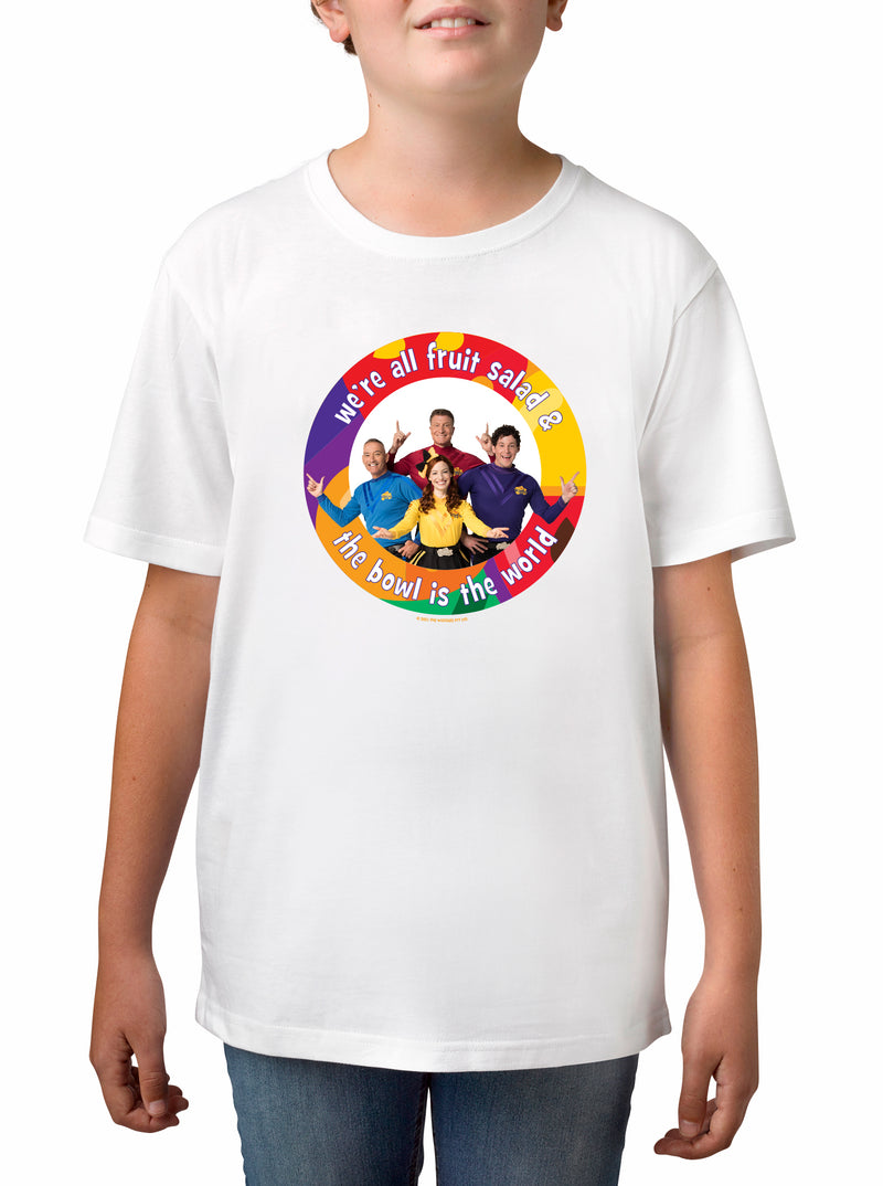 Twidla Boy's The Wiggles World Cotton T-Shirt