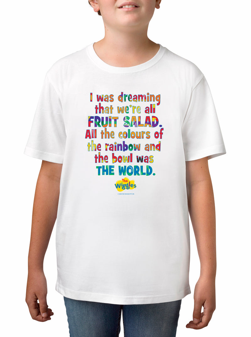 Twidla Boy's The Wiggles Dreaming Cotton T-Shirt