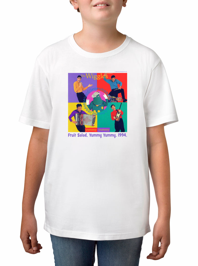 Twidla Boy's The Wiggles 1994 Cotton T-Shirt