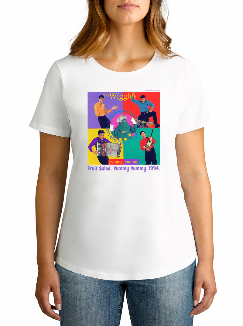 Twidla Women's The Wiggles 1994 Cotton T-Shirt