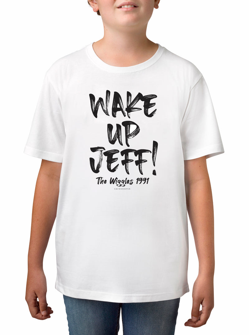 Twidla Boy's The Wiggles Wake Up Jeff! Cotton T-Shirt