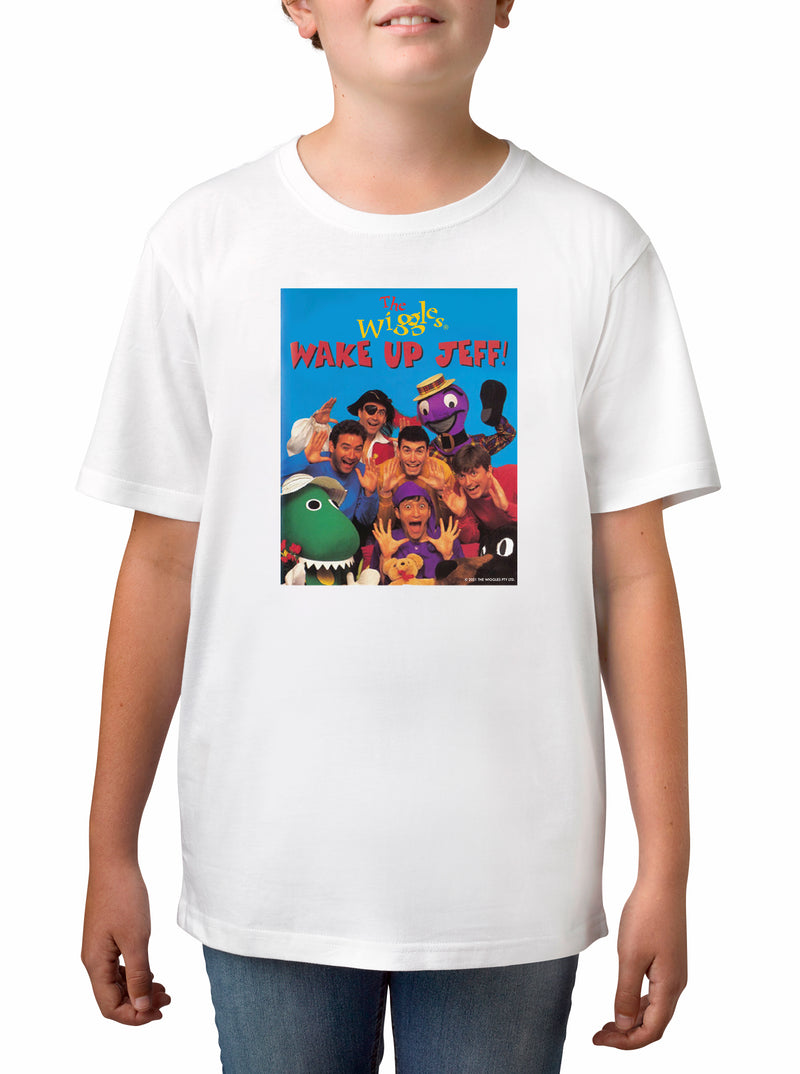 Twidla Boy's The Wiggles Retro Jeff Cotton T-Shirt