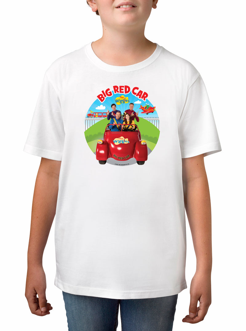 THE WIGGLES Boys Licensed tee t shirt top long sleeve NEW BIG RED BUS size 1