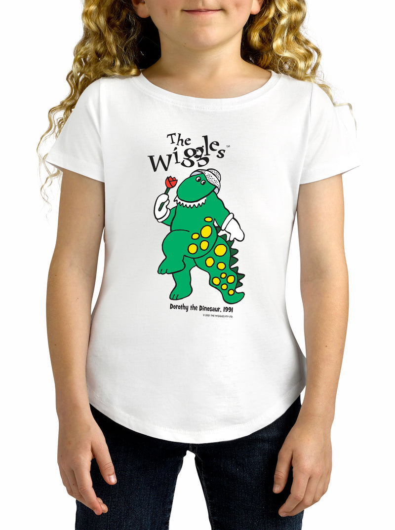 Twidla Girl's The Wiggles Dorothy 1991 Cotton T-Shirt