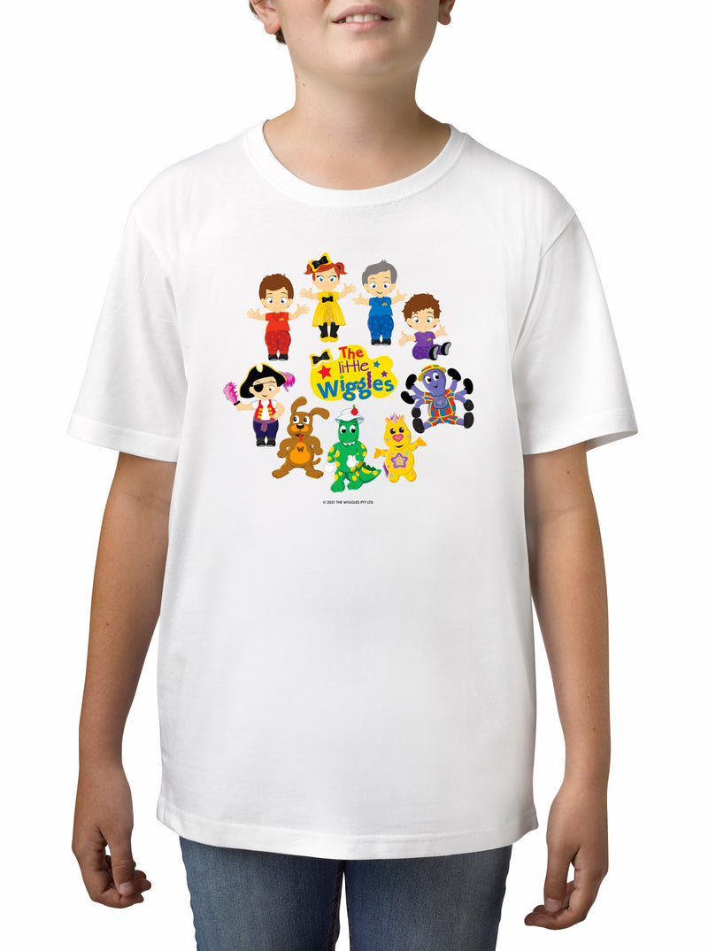 Twidla Boy's The Wiggles Little Wiggles Cotton T-Shirt