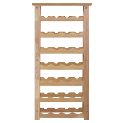 Winesome Napa Wine Rack with 28-Bottle - Black Out
