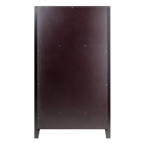 Image of Winesome Bordeaux Modular Wine Cabinet 20-Bottle Shelf - Black Out