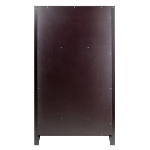 Winesome Bordeaux Modular Wine Cabinet X Panel - Black Out