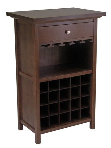 Winesome Chablis 20 Bottles Wine Cabinet - Black Out