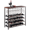 Winesome Michelle Wine Rack with Glass Hanger / Rack
