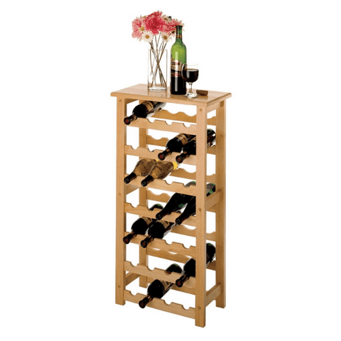 Winesome Napa Wine Rack with 28-Bottle