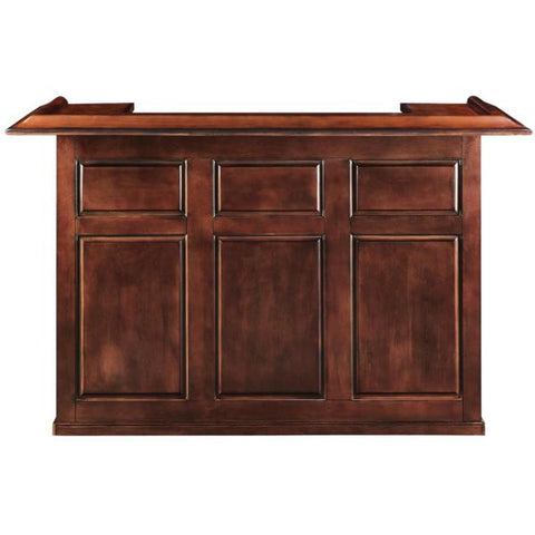 Image of RAM Game Room 72' Solid Wood & Veneer mix Bar - Black Out
