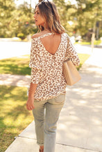 The Cream Leopard Top