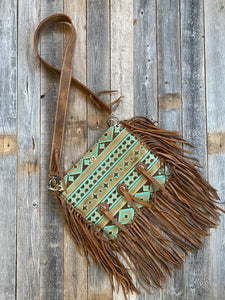 The Aztec Amish Handbag