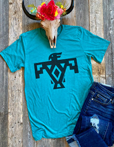 The Teal Thunderbird T-Shirt