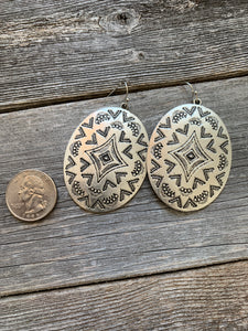 The Big Concho Earrings