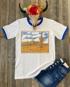 The Royal Cactus T-Shirt