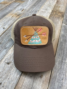 The Teal TeePee Hat