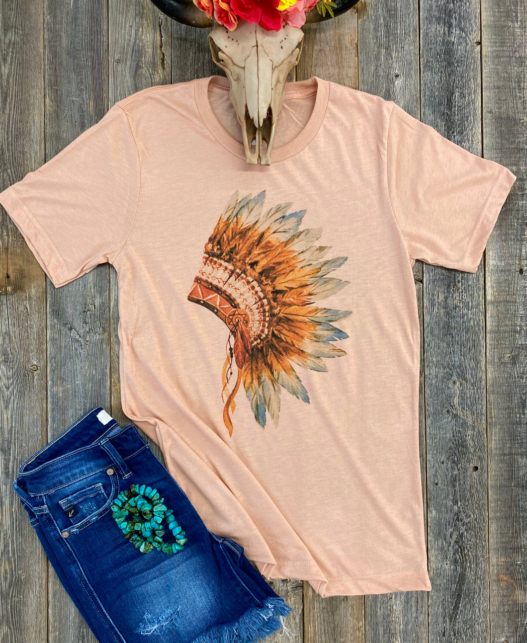 The Feathered Chief T-Shirt