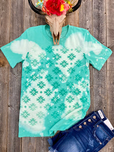 The Bleached Aztec T-Shirt
