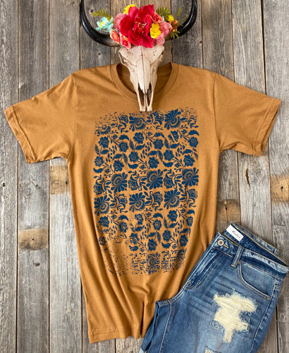 The Camel Floral T-Shirt