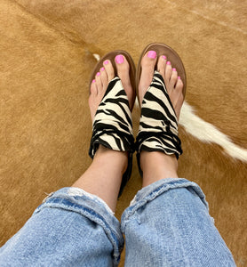 The Zebra Sparta Sandal