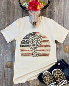 The Patriotic Cactus T-Shirt
