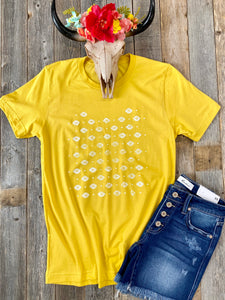 The Mustard Aztec T-Shirt