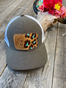The Tool Turquoise Leopard Hat