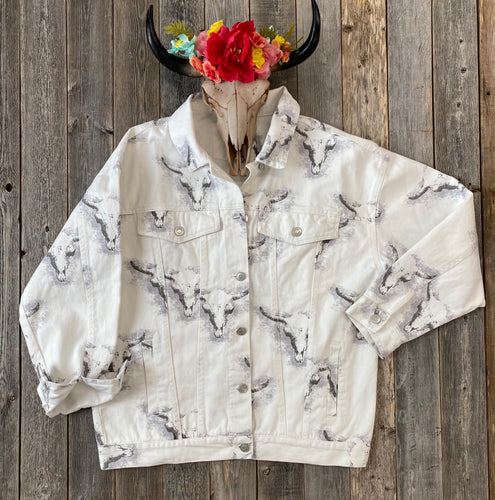 The Bull Head Denim Trucker Jacket
