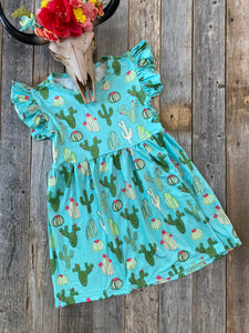 The Kids Cactus Dress