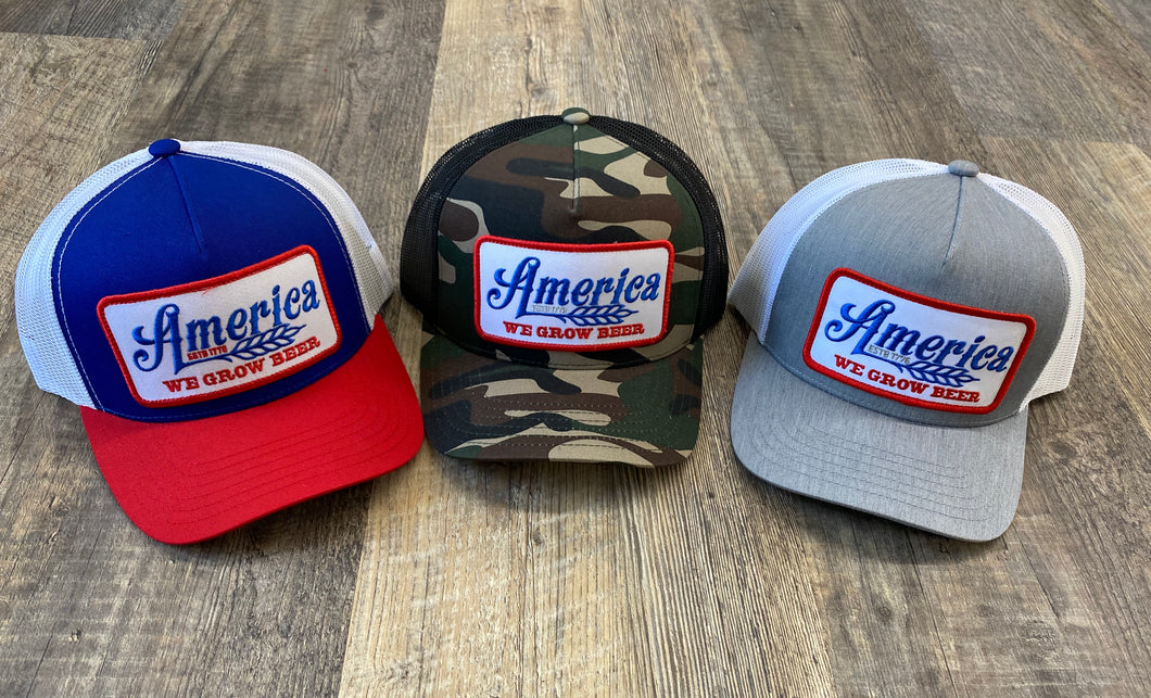 The America We Grow Beer Hat