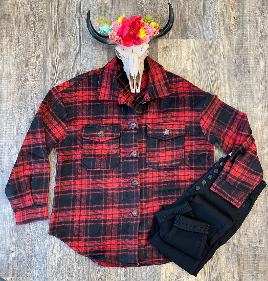 The Lumberjack Button Down